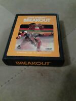 BREAKOUT by ATARI CORP for ATARI 2600 ▪︎ FREE SHIPPING ▪︎