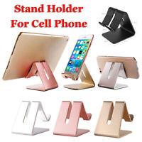 Metal Mobile Phone Tablet Desktop Mount Aluminum Stand Holder Bracket