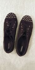 Xhilaration Studded Goth Platform Creepers Shoes Sneakers Women's Size 10