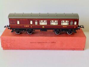 Hornby O gauge: No 2 LMS Corridor Coach: Brake Composite