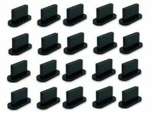 20st Lade Buchse Staubschutzstecker Stöpsel Silikon für IPHONE 7 8 X 11 SE 12 13