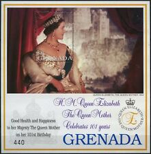 Grenada 2001 SG#MS3850a Queen Mothers 101st Birthday MNH M/S #D75010