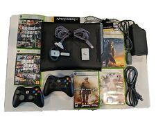 Xbox 360 Bundle Intercooler live Wireless Headset 5 games 2 wireless controllers