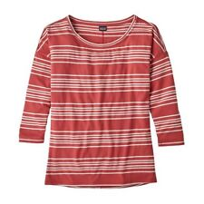 Patagonia Women's Shallow Seas 3/4 Sleeved Top Uk Size L