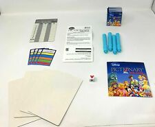 Disney Pictionary DVD Game - Markers, Boards, Die, Score Card-REPLACEMENT PARTS