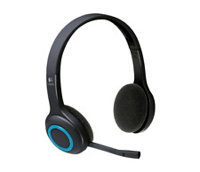 Logitech H600 Wireless 2.4GHz Headset Noise-cancel Microphone USB nano receiver