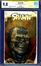 Spawn #300 BLANK CGC SS 9.8 signed OIL PAINT SKETCH Johnny Desjardins