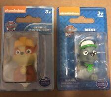 Nickelodeon Paw Patrol Mini Figure Green Rocky And Yellow Ruble..Free Shipping