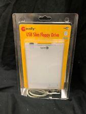 Macally USB Slim Floppy Disk Drive, MAC & Driver For Windows PC, FDD-USB