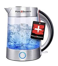 Pohl Schmitt 1.7L Electric Kettle with Upgraded 100% Stainless Steel Filter