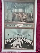 Vintage Postcard Caruso's in New York City Advertising Postcard 34th Street