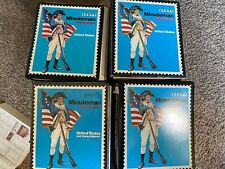 US STAMP COLLECTION IN 4ALBUMS CLASSICS ALL PICTURED RARE  CLASSICS TO MODERN