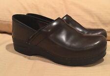 "DANSKO ""Professional"" Stapled CLOG Brown Leather 39/8.5-9US"