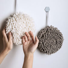 Absorbent Hand Towel Chenille handball Kitchen Hanging Washcloths,Q-drying Towel