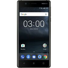 NOKIA 3 BLACK DUAL-SIM ANDROID SMARTPHONE HANDY OHNE VERTRAG LTE/4G WiFi WLAN