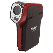 Vivitar DVR850HD 8.1 MP High Definition Underwater Digital Video Recorder - Red