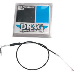 "Drag Specialties 39.5"" Inch Black Vinyl Throttle Cable Harley FLHR 94-95"