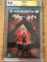 Batman #1 CGC 9.8 Signed Tony Daniel Epic Comics Edition