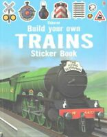 Build Your Own Trains Sticker Book by Simon Tudhope 9781409581321   Brand New