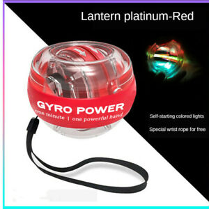 LED Wrist Trainer Ball Gyro Powerball Arm Exerciser Strengthener Muscle Relax