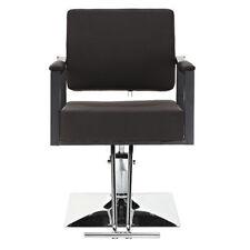 Hydraulic Barber Chair Salon Beauty Spa Shampoo Hair Styling Equipment Brown