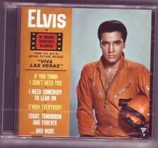 ELVIS PRESLEY CD VIVA LAS VEGAS COMPLETE ALBUM
