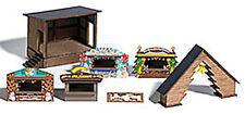 Busch 1183, Wald-Weihnachtsmarkt, neu, OVP, Weihnachten, Baum