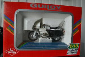 Moto GUILOY Police BMW R100RS au 1/18 neuve (2)