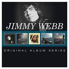 JIMMY WEBB ORIGINAL ALBUM SERIES 5 CD NEW