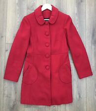 Ladies Red Coat - Size 12
