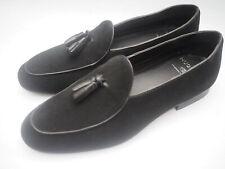 BLACK FRIDAY SALE! Hudson London Black Suede Loafers/Shoes, Size 8 UK,42 EU