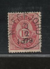 NORWAY: #25 canelled Nufsefjord 1879.