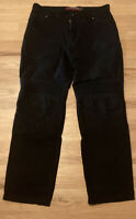 Hein Gericke Cotton Motorcycle Scooter Touring Pants - Black - Women's Size 12