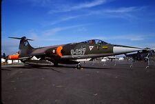 Original colour slide F-104G Starfighter 63-7037/9-037 of 192 Filo Turkish AF