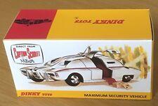 Dinky 105 Maximum Security Vehicle Empty Repro Box