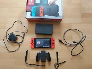 Console de jeux - NINTENDO Switch bleu rouge V1 - Crackable (NON PATCHE) - XAJ40