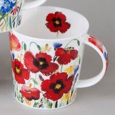 Dunoon Campagne Mohn Poppy Teetasse Kaffeebecher 0,48 L