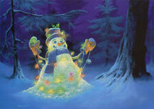 Let it Glow - LPG Glitter Box of 14 Christmas Cards by LPG Greetings