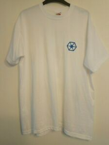 STAR WARS BATTLEFRONT 2004 VINTAGE PROMO DROID ARMY DOUBLE-SIDED STAFF T-SHIRT