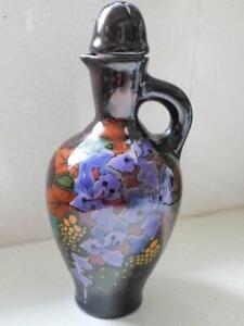 Gouda Regina W.B. Beautiful Porcelain Bottle RARE - Made in Holland