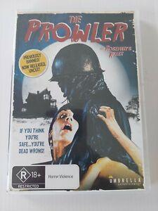 The Prowler 1981 Region 4 DVD R18+ Violence Horror SUPER RARE free shipping