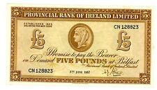 Northern Ireland  ... P-242 ... 5 Pounds ... 5-Jun-1957 ... CH*VF-XF*