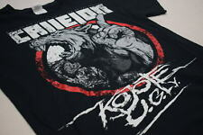 Callejon T-Shirt Coyote Ugly Tour Concert Metalcore Band Post Hardcore Wolf M