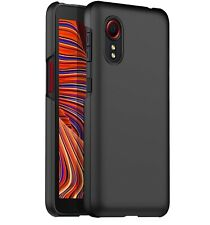 For Samsung Galaxy Xcover 5 Case Ultra Slim Hard Back Cover - Matte Black