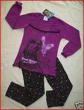 HANNAH MONTANA - DISNEY Purple PJs PYJAMAS sz 5 - 6 NEW