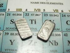 Ti 22 Titan Barren 1g Kleinbarren bullion titanium sample .999 Sammler PSE PTE