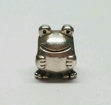Authentic Pandora Sterling Silver Froggie Bead 790247 Retired 925 ALE