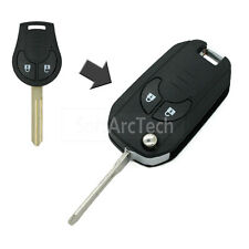 Flip Key Shell fit for NISSAN Cube Micra Note Qashqai Juke Romote Key Case S916A