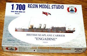 "RMS Neptun 02 : ""HMS ENGADINE"" Brit. Seeflugzeugträger WW I / Resin Kit 1:700"