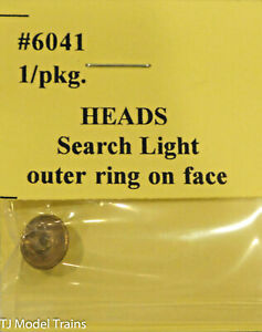 Tomar Industries #6041 Heads Search Light/ Outer Ring On Face (Brass Casting)